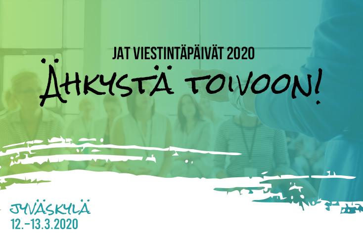 JAT Viestintäpäivät 2020 - Julkisen alan tiedottajat